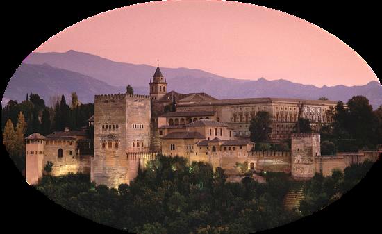 Альгамбра, мавританский Замок в Гранаде