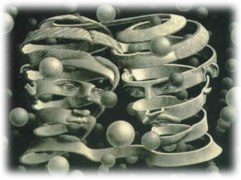 Maurits Cornelis Escher, 'Bond of Union'